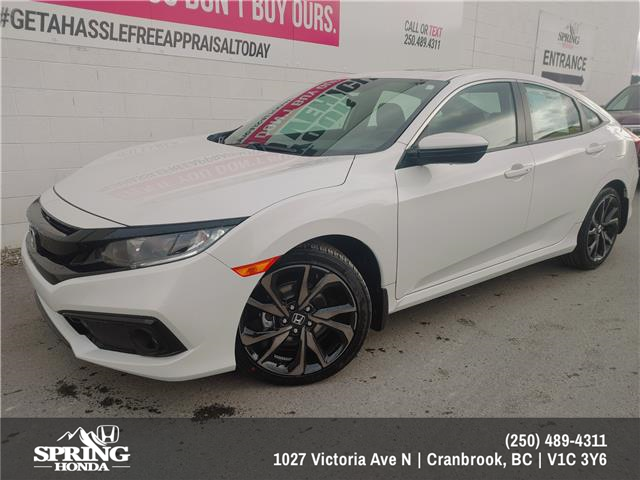 2021 Honda Civic Sport (Stk: H13234) in North Cranbrook - Image 1 of 1