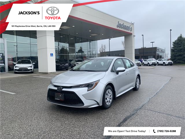 2021 Toyota Corolla L (Stk: 12843A) in Barrie - Image 1 of 11
