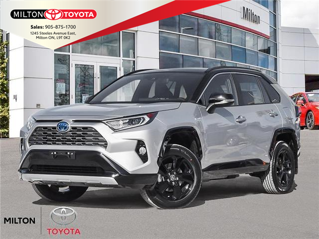 2021 Toyota RAV4 Hybrid XLE (Stk: 117940) in Milton - Image 1 of 23