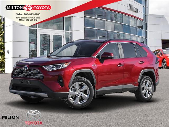 2021 Toyota RAV4 Hybrid Limited (Stk: 118251) in Milton - Image 1 of 23