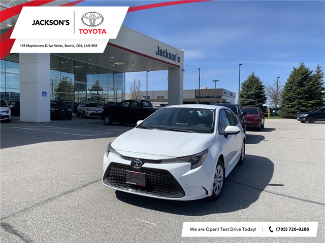 2021 Toyota Corolla LE (Stk: 10743) in Barrie - Image 1 of 11