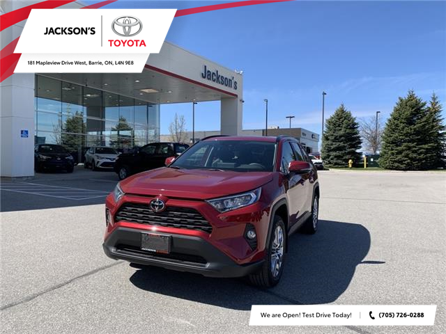 2021 Toyota RAV4 XLE (Stk: 19593) in Barrie - Image 1 of 11