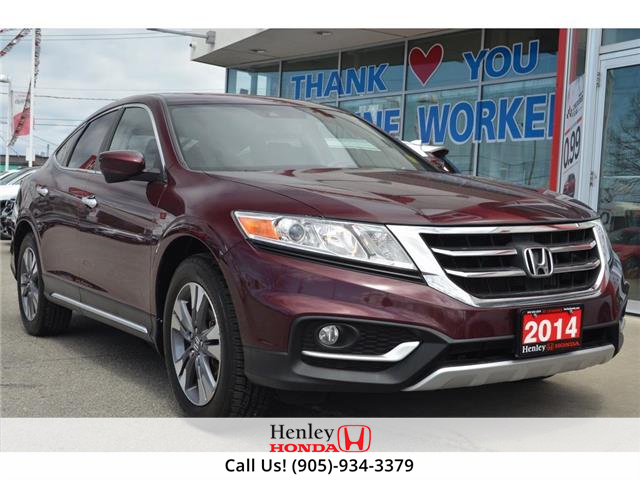 2014 Honda Crosstour LEATHER | HEATED SEATS | REAR CAM (Stk: H19434A) in St. Catharines - Image 1 of 24