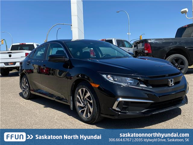 2020 Honda Civic EX (Stk: 50165B) in Saskatoon - Image 1 of 16