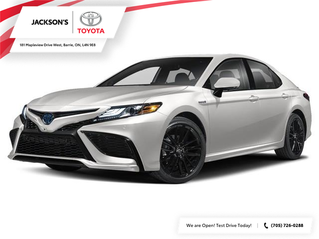2021 Toyota Camry Hybrid SE (Stk: 15641) in Barrie - Image 1 of 3