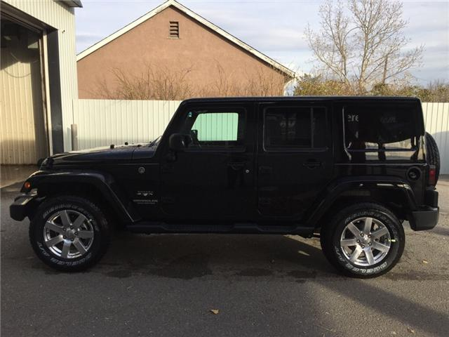 2017 Jeep Wrangler Unlimited Sahara (Stk: 11695) in Fort Macleod - Image 2 of 18