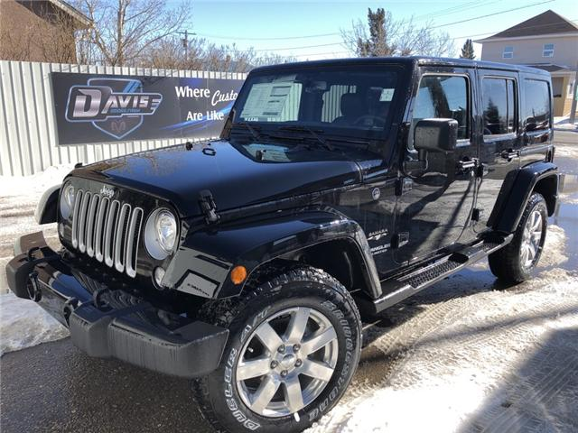 2017 Jeep Wrangler Unlimited Sahara (Stk: 11696) in Fort Macleod - Image 1 of 17