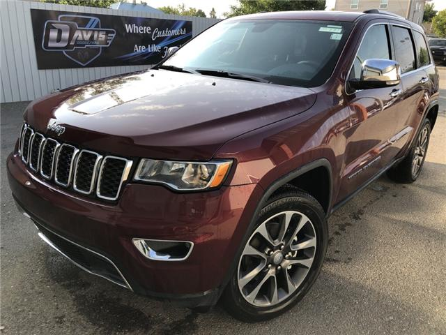 2018 Jeep Grand Cherokee Limited (Stk: 12596) in Fort Macleod - Image 1 of 22