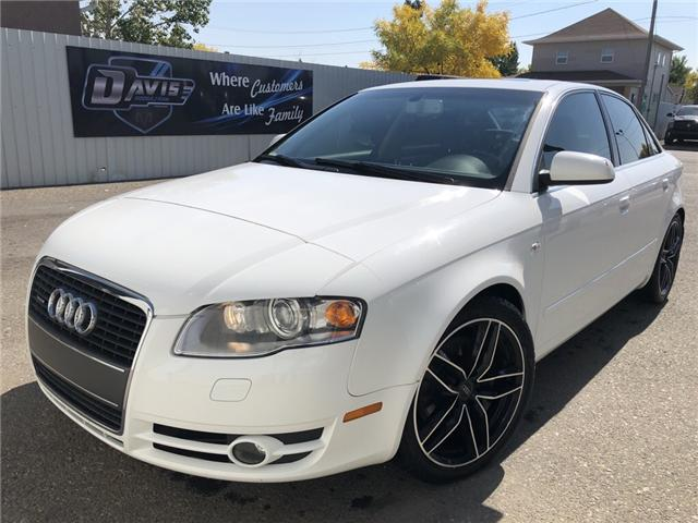 2007 Audi A4 2.0T (Stk: 13689) in Fort Macleod - Image 1 of 20