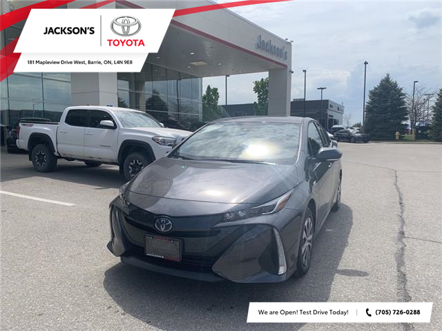2021 Toyota Prius Prime Base (Stk: 12637) in Barrie - Image 1 of 11