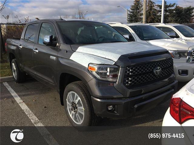 2018 Toyota Tundra Platinum 5.7L V8 (Stk: M180276) in Mississauga - Image 1 of 5