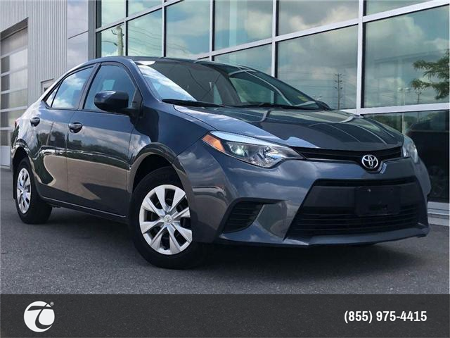 2015 Toyota Corolla CE !! JUST TRADED !! (Stk: 31356) in Mississauga - Image 1 of 15