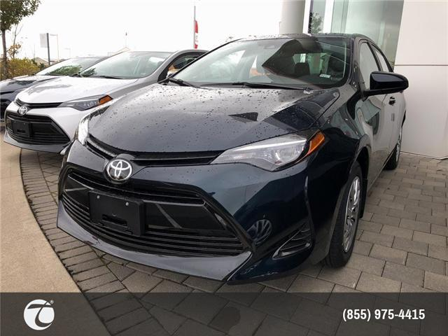 2019 Toyota Corolla LE (Stk: M190082) in Mississauga - Image 1 of 5