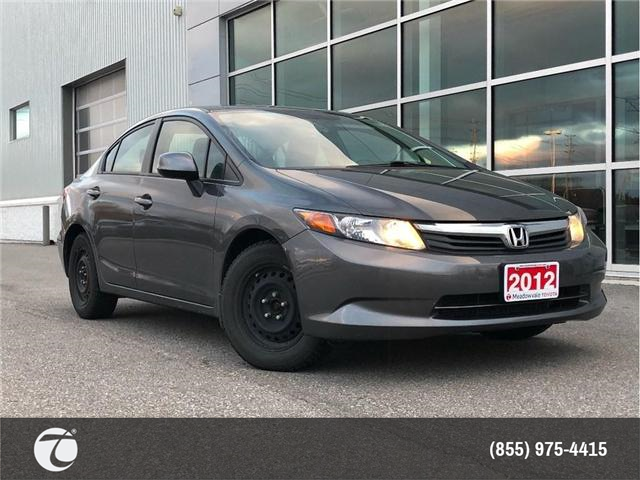 2012 Honda Civic LX (Stk: M190141A) in Mississauga - Image 1 of 15