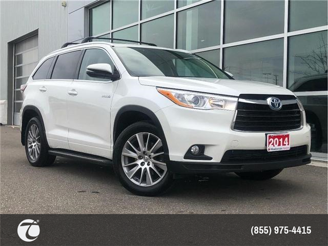 2014 Toyota Highlander Hybrid XLE!! JUST TRADED !! (Stk: M190168A) in Mississauga - Image 1 of 17