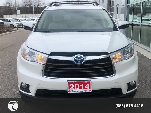 2014 Toyota Highlander Hybrid XLE!! JUST TRADED !! (Stk: M190168A) in Mississauga - Image 2 of 17