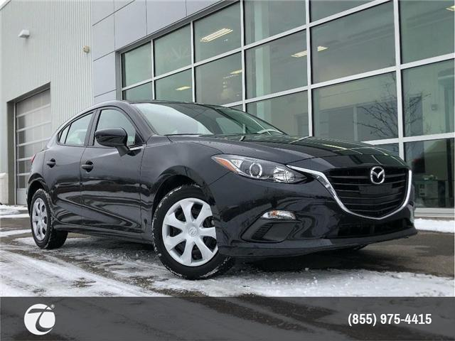 2016 Mazda Mazda3 GX!! JUST TRADED IN !! (Stk: M190201A) in Mississauga - Image 1 of 17