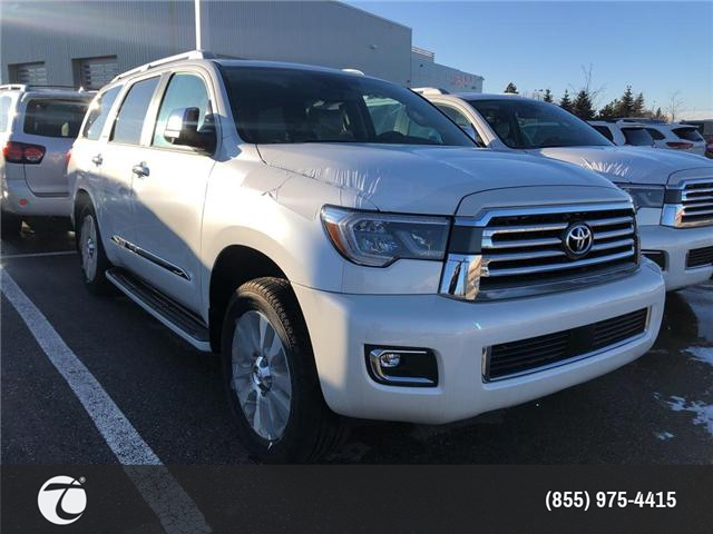 2018 Toyota Sequoia Platinum 5.7L V8 (Stk: M180728) in Mississauga - Image 2 of 5