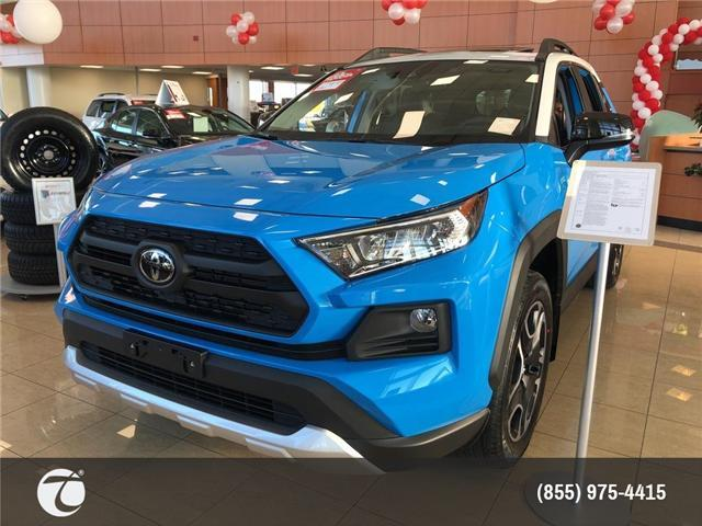 2019 Toyota RAV4 Trail (Stk: M190227) in Mississauga - Image 1 of 5
