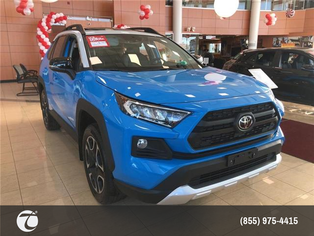 2019 Toyota RAV4 Trail (Stk: M190227) in Mississauga - Image 2 of 5