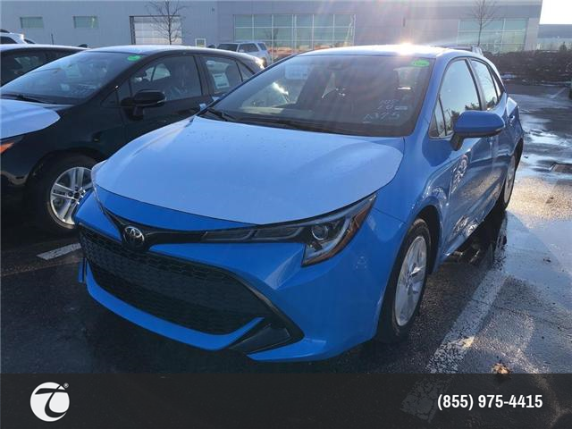 2019 Toyota Corolla Hatchback Base (Stk: M190239) in Mississauga - Image 1 of 5