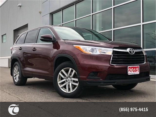 2015 Toyota Highlander LE AWD!! JUST TRADED !! (Stk: 31387) in Mississauga - Image 1 of 18
