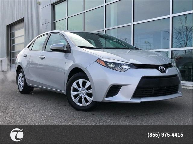 2015 Toyota Corolla CE!! JUST TRADED IN !! (Stk: 31386) in Mississauga - Image 1 of 15