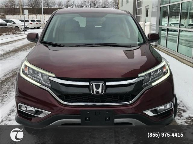2016 Honda CR-V SE!! JUST TRADED IN !! (Stk: M190260A) in Mississauga - Image 2 of 16