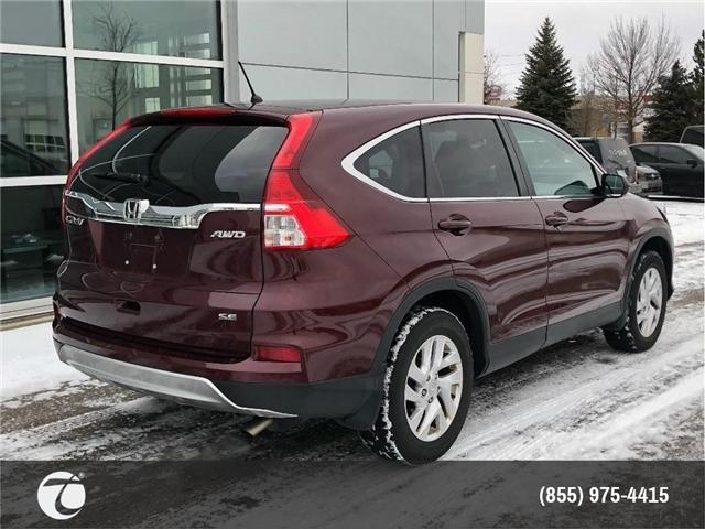 2016 Honda CR-V SE!! JUST TRADED IN !! (Stk: M190260A) in Mississauga - Image 6 of 16
