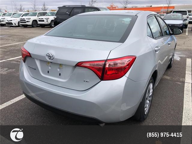 2019 Toyota Corolla LE (Stk: M190278) in Mississauga - Image 4 of 5