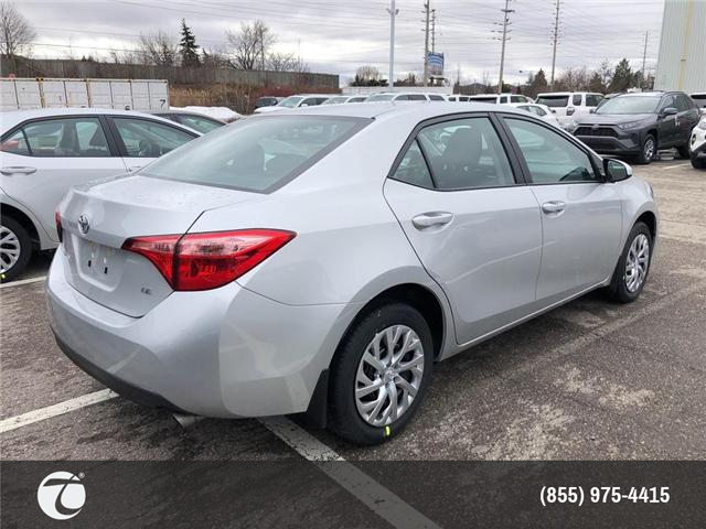 2019 Toyota Corolla LE (Stk: M190301) in Mississauga - Image 4 of 5