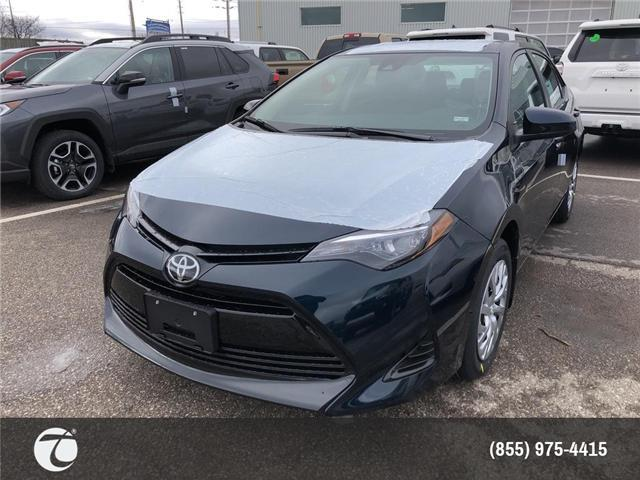 2019 Toyota Corolla LE (Stk: M190344) in Mississauga - Image 1 of 5