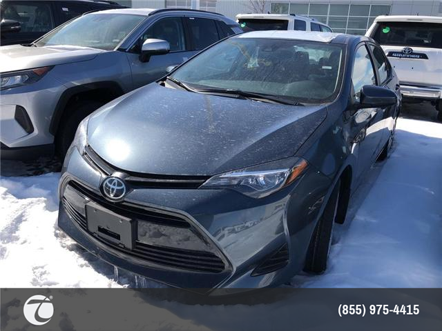 2019 Toyota Corolla LE (Stk: M190397) in Mississauga - Image 1 of 5