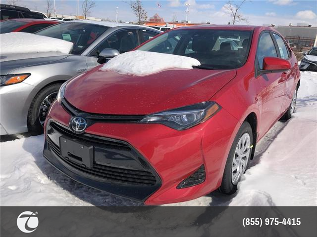 2019 Toyota Corolla LE (Stk: M190420) in Mississauga - Image 1 of 5