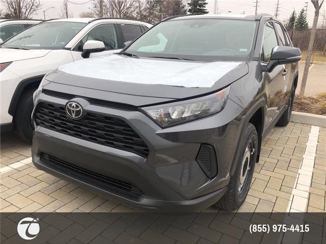 2019 Toyota RAV4 LE (Stk: M190584) in Mississauga - Image 1 of 5