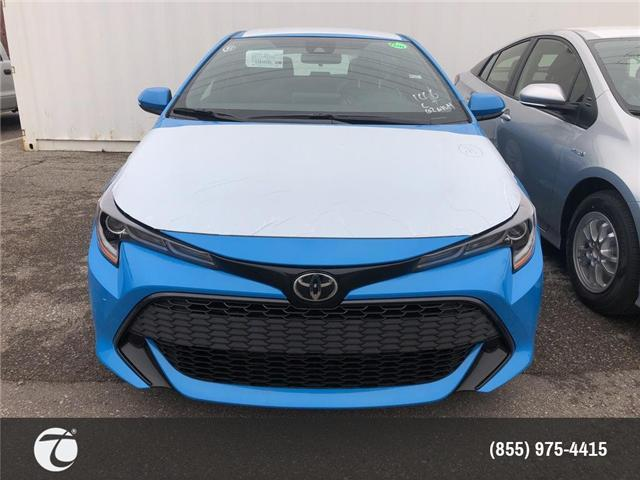 2019 Toyota Corolla Hatchback Base (Stk: M190577) in Mississauga - Image 2 of 5