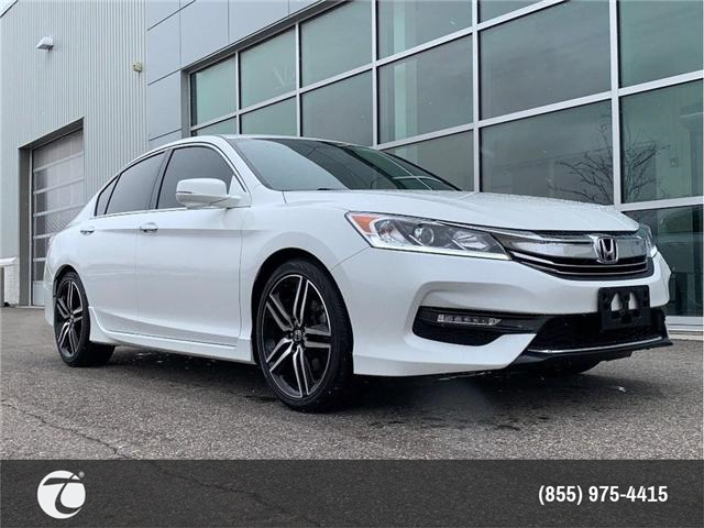 2017 Honda Accord Sedan Sport!! JUST TRADED IN !! (Stk: M180436A) in Mississauga - Image 1 of 17