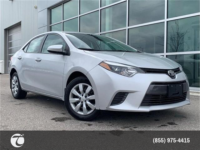 2016 Toyota Corolla LE!! JUST TRADED IN !! (Stk: 31445) in Mississauga - Image 1 of 15