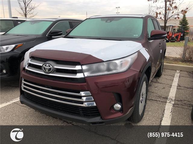 2019 Toyota Highlander XLE (Stk: M190566) in Mississauga - Image 1 of 5