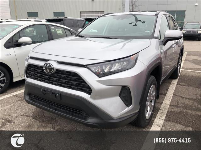 2019 Toyota RAV4 LE (Stk: M190392) in Mississauga - Image 1 of 5