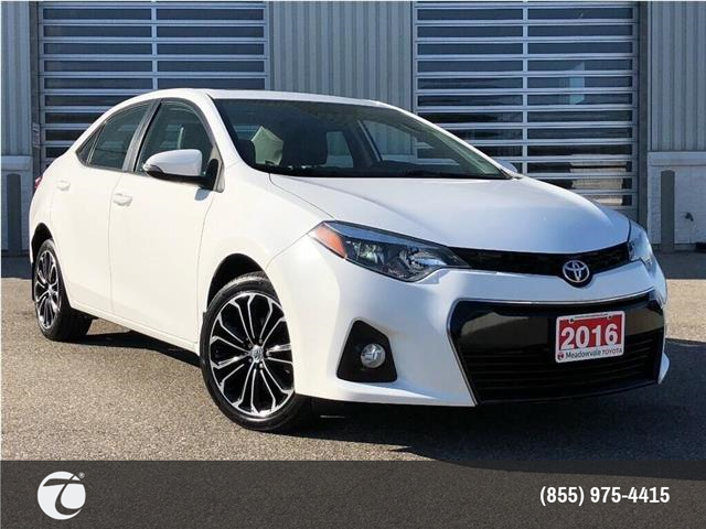 2016 Toyota Corolla S UPGRADE! JUST TRADED ! (Stk: M200059A) in Mississauga - Image 1 of 21