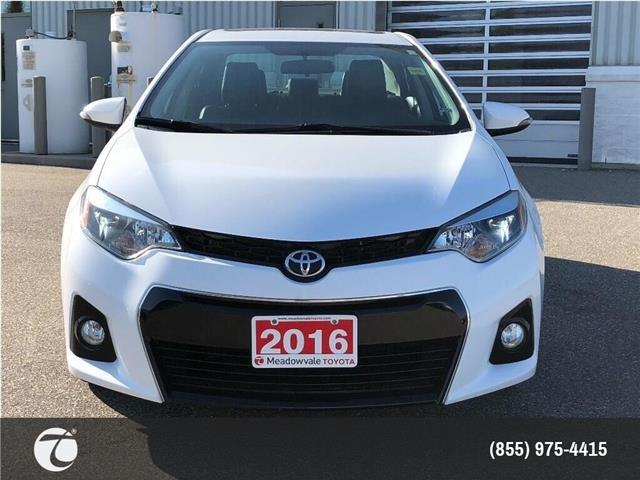 2016 Toyota Corolla S UPGRADE! JUST TRADED ! (Stk: M200059A) in Mississauga - Image 2 of 21