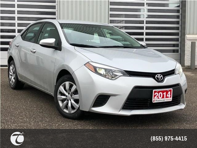 2014 Toyota Corolla LE !!JUST TRADED !! (Stk: M200304A) in Mississauga - Image 1 of 20