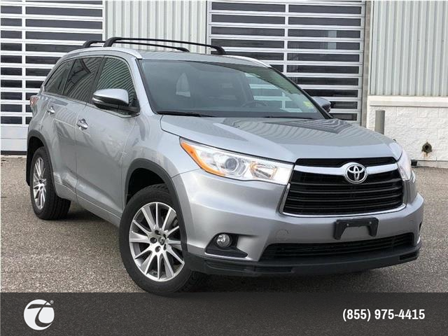 2016 Toyota Highlander XLE AWD!! JUST TRADED IN ! (Stk: M200257A) in Mississauga - Image 1 of 14