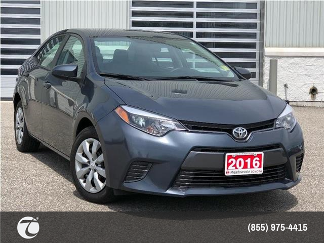 2016 Toyota Corolla LE (Stk: M200556A) in Mississauga - Image 1 of 22