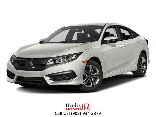 2016 Honda Civic Sedan w/Honda Sensing (Stk: H19560A) in St. Catharines - Image 1 of 3