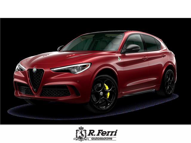 2021 Alfa Romeo Stelvio Quadrifoglio (Stk: ) in Woodbridge - Image 1 of 1