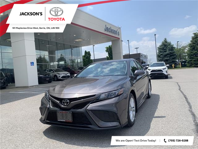 2021 Toyota Camry SE (Stk: 17825) in Barrie - Image 1 of 11