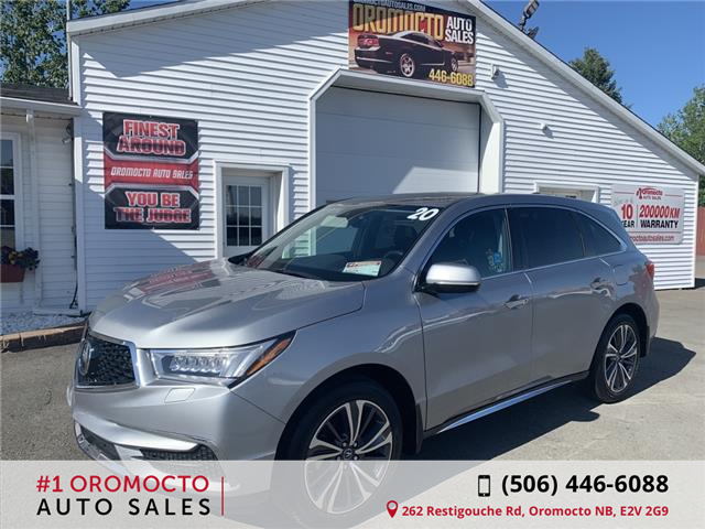 2020 Acura MDX Tech (Stk: ) in Oromocto - Image 1 of 17
