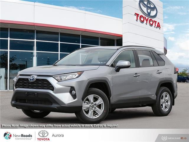 2021 Toyota RAV4 Hybrid XLE (Stk: 32566) in Aurora - Image 1 of 23